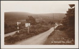 Webber's Post, Exmoor, Somerset, C.1930 - Whitby, Light & Lane RP Postcard - England