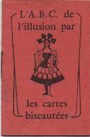 Cartes à Jouer / L'ABC De L'Illusion Par Les Cartes Biseautées/GRIMAUD/ Ets JM SIMON/ Paris /Vers 1930-50    VPN146 - Ex Libris