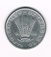 =&   HONGARIJE  20  FILLER  1968  BP - Hongrie