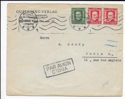 TCHECOSLOVAQUIE - 1928 - ENVELOPPE Par AVION De PRAGUE => PARIS - Czechoslovakia