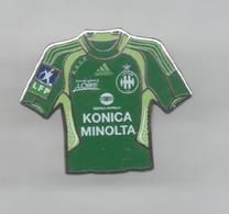 PINS PIN'S FOOT FOOTBALL ASSE SAINT ETIENNE LOIRE MAILLOT MINOLTA PHOTO EGF - Fútbol