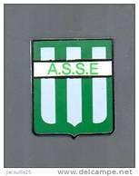 PINS PIN'S FOOT FOOTBALL  ASSE SAINT ETIENNE LOGO BLASON EGF 18 MMS - Football