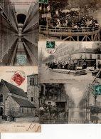 Beau Lot De 60 Cartes Postales Anciennes Val De Marne Département 94 Dont Nombreuses Animations N°1 - Cartes Postales