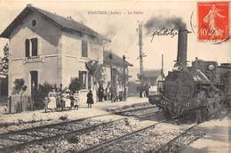 10-CHATRES- LA HALTE - France