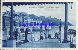 99329 ITALY VERBANIA INTRA LAGO MAGGIORE VIEW PARTIAL POSTAL POSTCARD - Italia