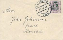 Sweden - Stationery. Used 1919.  S-4330 - Postal Stationery