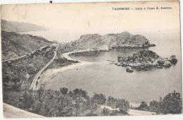 *** MESSINA  ***  TAORMINA  Isola E Capo  S Andrea - Timbrée TTB - Messina
