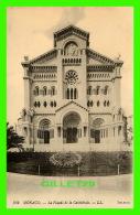 MONACO - LA FAÇADE DE LA CATHÉDRALE - LL. - SELECTA - LÉVY FILS & CIE - ÉCRITE 1925 - - Cathédrale Notre-Dame-Immaculée
