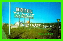 CARTES DE VISITE - MOTEL LA MARINA INC - AVENUE DU PHARE OUEST, MATANE, QUÉBEC - - Cartes De Visite