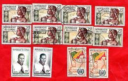 3193 --  REPUBLIQUE  POPULAIRE  DU  CONGO  --  Lot  De  Timbres  Neufs & Oblitérés - Congo - Brazzaville