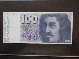Banconota Da 100 Franchi Svizzeri - Suisse