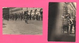 Bersaglieri Sezione Padova  2 Foto Adunata Torino 1961 - Guerra, Militari