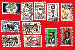 3195 --  REPUBLIQUE  POPULAIRE  DU  CONGO  --  Lot  De  Timbres  Neufs & Oblitérés - Congo - Brazzaville