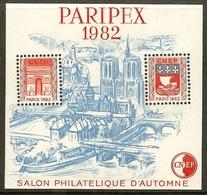FRANCE Bloc CNEP N°3 (PARIPEX 1982) - Cote 20.00 € - CNEP