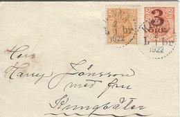 Sweden - Uprated Stationery.  Used 1922   S-4333 - Postal Stationery
