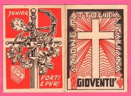 Azione Cattolica A C Tessera Belluno Diocesi Anno 1936 Ventennio - Documentos Antiguos