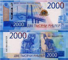 RUSSIA       2000 Rublej       P-279       2017       UNC - Russia