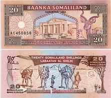 SOMALILAND       20 Shillings       P-3a       1994       UNC - Somalie