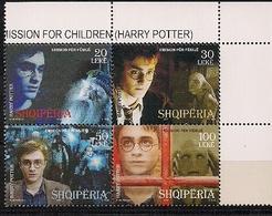 "2008 Albanien  Mi. 3280-3  **MNH    "" Harry Potter "" - Albanien"