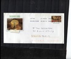 France 1 Env PAP Prêt à Poster Oblitérée 15 09 10 - Timbre 3649 - Le Pain  Illustration Fromage De Langres Haute-Marne - Postwaardestukken