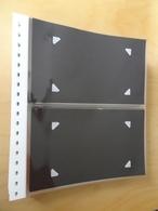 Lindner 50 Stück Klarsichthüllen 2er Für Briefe (7550) - Alben & Binder