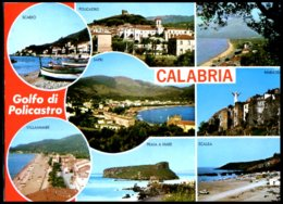 Carte Postale Calabria Golfo Di Policastro,multivues , Circulé - Italia