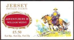 Jersey Y&t C562 Série 562/67 Bateaux Et Autres Thémes En Bloc De 4, Carnet Adventurers III William Mesny+texte - Jersey