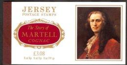 Jersey Y&t C276 Série 276/81  Thémes Divers, Carnet  Martell Cognac+texte ** - Jersey