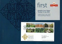ROYAL MAIL COMMUNICATION STAMPS TIMBRES HAMPTON COURT PALACE - Monumentos