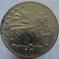 Ethiopia 10 Matonas 1930/1 VF / XF - Haile Selassie I - Ethiopia
