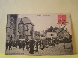 """TROYES (AUBE) MARCHE SAIN T-REMY.     100_6068""""b"""" - Troyes"""