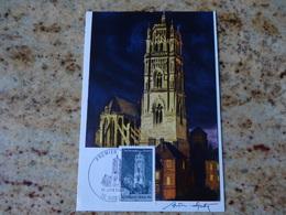 1er Jour Rodez Aveyron La Cathedrale 1967 - FDC
