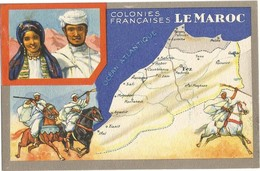 Chromo : Colonies Françaises Maroc - Edition Spéciale Des Produits Du Lion Noir -R. C.série 100739 - Publicité
