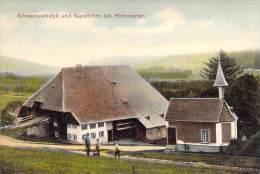 DEUTCHLAND Allemagne - Schwarzwaldidyll Und Kapellchen Bei HINTERZARTEN - CPA - - Hinterzarten