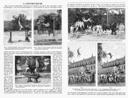 LA GYMNASTIQUE MILITAIRE    1895 - Sports