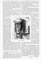 ETUVE à DESINFECTION Par CIRCULATION D'UN COURANT DE VAPEUR SOUS PRESSION   1895 - Sciences & Technique
