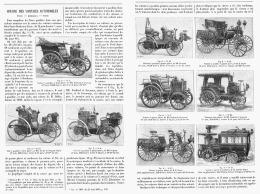 """LA COURSES DES VOITURES AUTOMOBILES  """"PARIS - BORDEAUX - PARIS  """"  1895 - Aquitaine"""