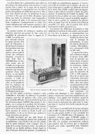 """ELECTRICITE PRATIQUE   """" BOITE DE MESURE ELECTRIQUE """"  1895 - Sciences & Technique"""