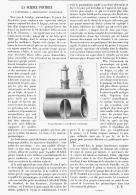 RECREATIONS PRATIQUE   ( UN PNEUMATIQUE A REGONFLEMENT AUTOMATIQUE )  1895 - Sciences & Technique