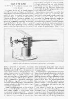 CANON  à TIR RAPIDE De 57mm Et De 50 CALIBRES DE LONGUEUR D'AME Systéme HOTCHKISS  1895 - Unclassified