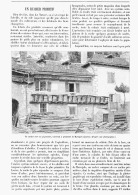 UN RUCHER PRIMITIF à PROXIMITE De MARJEVOLS  ( LOZERE )  1895 - Languedoc-Roussillon