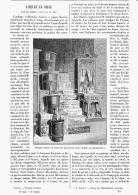 L'HEURE EN CHINE Par LE SOLEIL , L'EAU Et Le FEU   1895 - Bijoux & Horlogerie