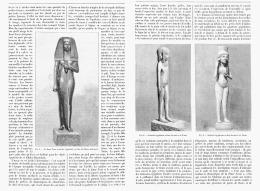 LA DAME TOUI Au LOUVRE Et La SCULTURE INDUSTRIELLE SUR BOIS En EGYPTE   1895 - Non Classificati