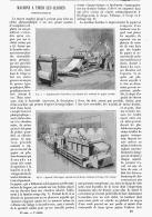 MACHINE à TIRER LES CLICHES PHOTOGRAPHIQUES    1895 - Photography