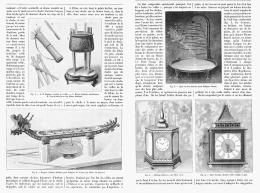 L'HEURE EN CHINE Par LE SOLEIL , L'EAU Et Le FEU   1895 (1) - Bijoux & Horlogerie