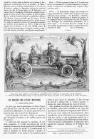 UN PROJET DE CANON MONSTRE Au XVII SIECLE   1895 - Unclassified