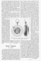 MONTRE à MEMONTOIR De M. REBELLO    1895 - Jewels & Clocks