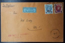 Belgium:  Airmail Cover First Flight Oostende ->  Köln 15-5-1928 - Luchtpost