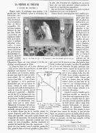 LA SCIENCE Au THEATRE  ILLUSION-MAGIE (  L'ANTRE  DES FANTOMES )  1895 - Unclassified