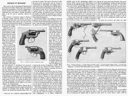 PISTOLETS Et REVOLVERS   1895 ( 1 ) - Unclassified